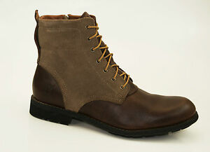Timberland-6-pouce-fermeture-eclair-laterale-Bottes-Bottines-Homme-a-lacets