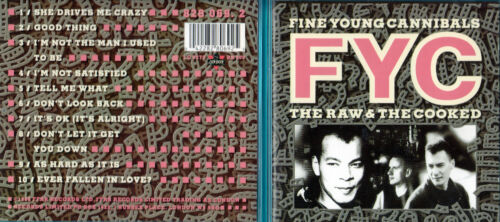 1 von 1 - Fine Young Cannibals - CD - The Raw & The Cooked - CD von 1988 - ! ! ! ! !