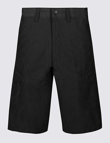 """Marks /& Spencer m/&s Big /& Tall Hommes Noir Trekking Randonnée Shorts W 46/"""" 48/"""" 50/"""""""