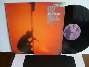 Details about U2 - Under A Blood Red Sky (Live) IMA 3 UK LP 1983 Island I  Will Follow