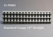 "MTH STANDARD GAUGE REALTRAX 14"" STRAIGHT TRACK Lionel Tinplate 11-99001 NEW"