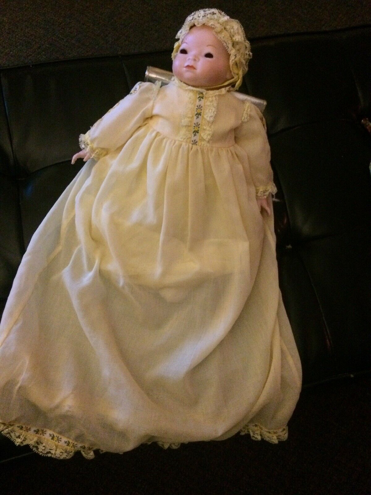 Vtg Bye Lo Baby Bisque Doll Signed Grace S Putnam Germany + Body Sign13 1 2  WOW
