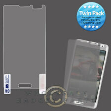 LG US780 Optimus F7 MYBAT LCD Screen Protector-Twin Pack Cover Film Guard Shield