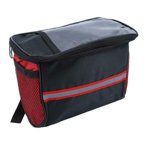 Large Bicycle Bags Capacity Waterproof Tube Handlebar Bag Outdoor Sport Q