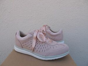 115ea35fe2b Details about UGG VICTORIA QUARTZ PINK PERFORATED SUEDE FASHION SNEAKERS,  US 8.5/ EUR 39.5 NIB