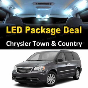 2017 Chrysler Town And Country >> Details About 9x White Led Lights Interior Package Deal For 2001 2017 Chrysler Town Country