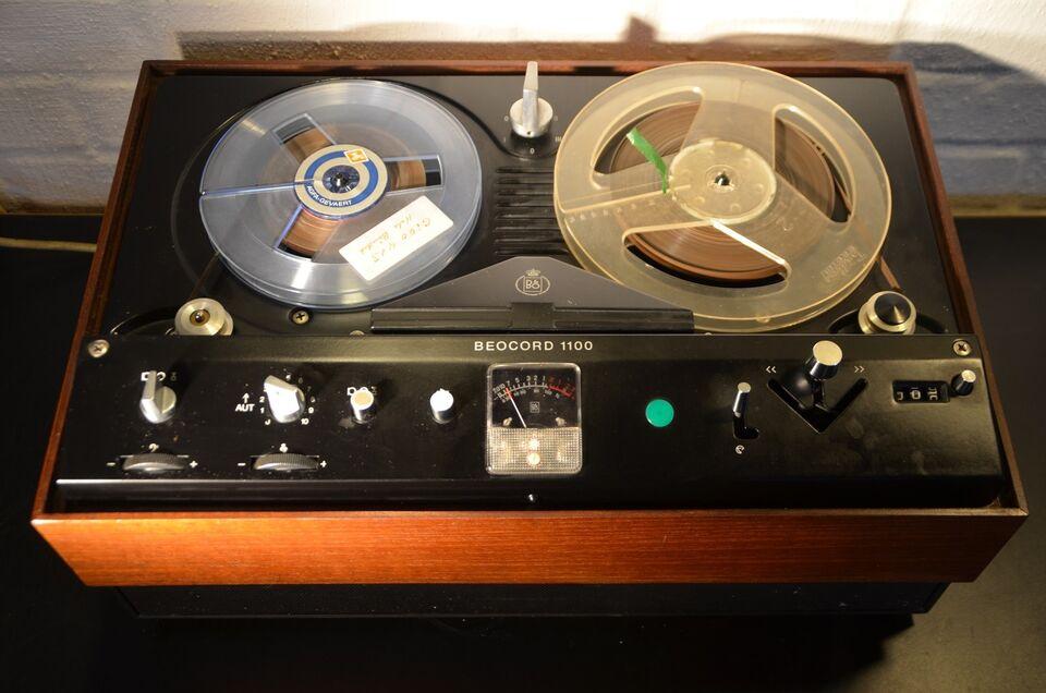 Spolebåndoptager, Bang & Olufsen, Beocord 1100