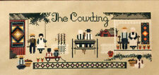 XS Told-in-a-Garden Chart - The Courting - Amish Couples - Opened but Nice