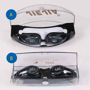 a58a10a132b Myopia Swimming Glasses -1.50 -2.00 to -8.00 Optical Lens Fog ...