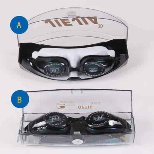 Swimming Goggles Prescription Short Sight Anti Fog Optical Myopia Optical Lens