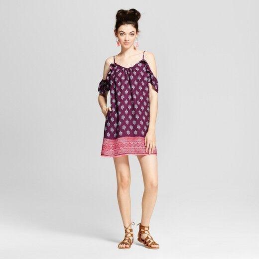 Xhilaration Women/'s Dress Plum Or Ivory Assorted Sizes NWT Free Shipping!!!
