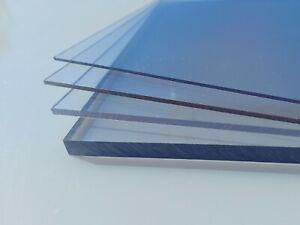 Polycarbonat UV resistent Platte klar 2050 x1250 x 3 mm