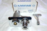 Mifab Hy-3000 Mhy-30 Commercial Hose Bib Wall Hydrant Polished Chrome