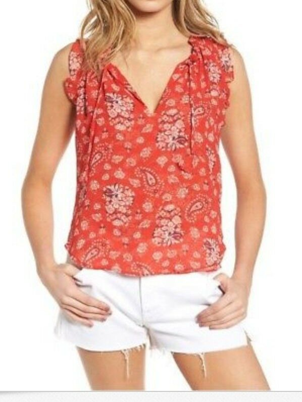 New Misa Top red  sz small