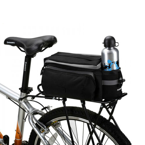 Bicycle Rear Rack Bag Bike Tail Seat Trunk Pack Stroage Handbag Pannier Travel