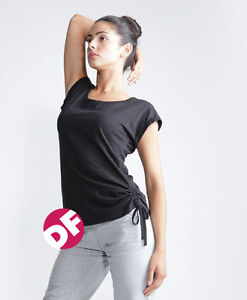 Ladies-Casual-Slounge-New-Long-Line-style-Skinni-Fit-t-shirt-NEW-Black-White