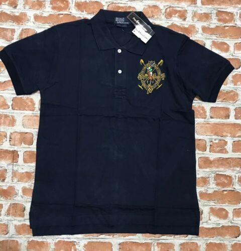 RL Large Embroidered Logo Custom Fit RALPH LAUREN Polo Shirt