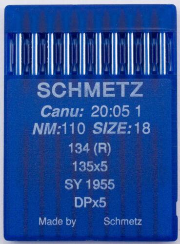 alrededor de pistón agujas para industria máquina de coser Schmetz agujas grosor 134r 110