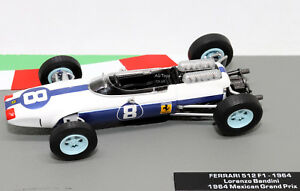 FORMULA-1-AUTO-COLLEZIONE-FERRARI-512-F1-1964-LORENZO-BANDINI-1-43-F1-modello