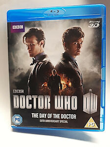 BBC-Blu-Ray-DOCTOR-WHO-The-Day-Of-The-Doctor-3D-50th-Anniversary-Special-Code