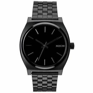 7d8701cc7a8 Nixon Time Teller A045 001 All Black Watch for sale online