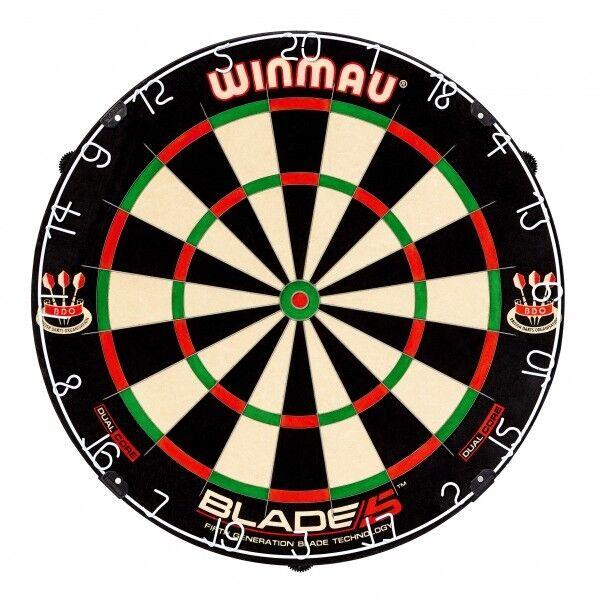 Winmau Board - Blade 5 Dual Core Profi Board Dartboard Dartscheibe (Steel Dart)