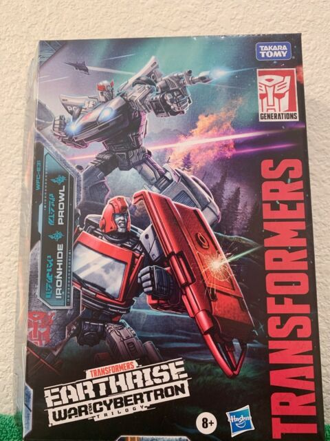Hasbro Transformers Earthrise Ironhide and Prowl 2 Pack War for Cybertron Amazon