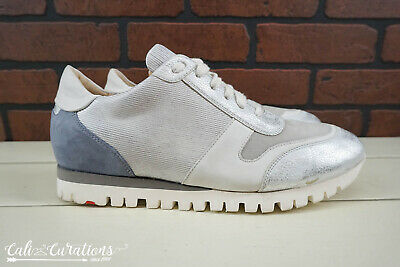 Vgc Lloyd Germany Athletic Trainers Sneakers Mens Size 8 5 Gray Silver White Ebay