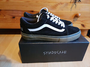 fe147c60f35 Vans x Golf Wang x Syndicate size 9 black gum Old Skool Low Pro Odd ...