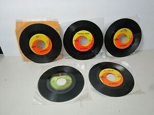 The Beatles 45 RPM Records Revolution Hey Jude Help Paperback Writer Hard Days N