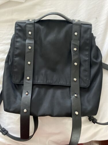 all saints Black backpack 14.5x10x4.5