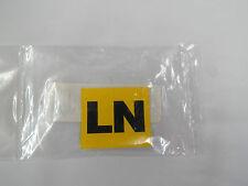 "Corvette New Valve Cover Engine Code ""LN"" Decal Sticker 427/400Hp 3x2 Auto 1969"
