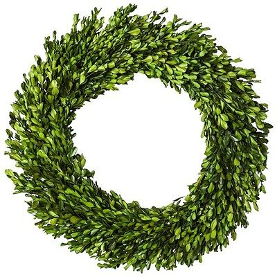 "Smith & Hawken Boxwood Wreath 21.25"""