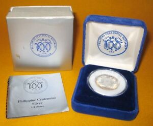 1998-AGUINALDO-RAMOS-100-Years-Independence-Philippine-Centennial-Coin-PROOF