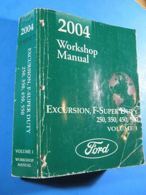 2004 Ford Excursion Super Duty F250