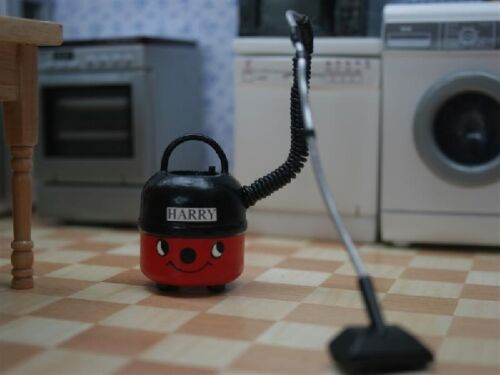 Harry the Hoover, Doll House Miniature, 1.12th Scale Vacuum.