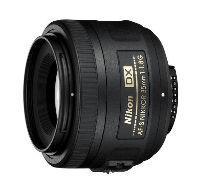 Nikon Nikkor AF-S 2183 35-35mm F//1.8 DX G Lente Para Nikon L-Negro