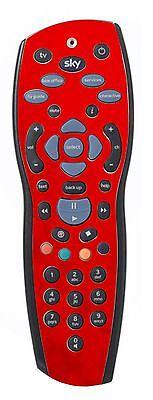 Red Chrome Sticker/Skin sky+hd Remote controller/controll stickers r49