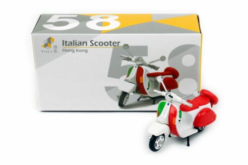 TINY City Hong Kong HK #58 italienische Union Jack Scooter Diecast Modellauto