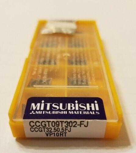 USA STOCK CCGT09T302-FJ NEW MITSUBISHI CCGT32.50.5FJ VP10RT 10 PACK