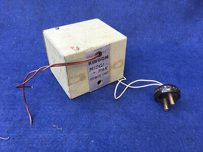 Kirdon Midgipak, 12v, Model Train Power, Speed Controller Unit