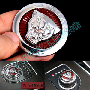 175f5cd4 Details about 42mm Car Gear Shift Knob Badge Emblem Sticker for XJ XE XF  F-Pace Etc