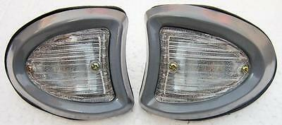 Vintage Bedford Front Park Lamp TRUCK  (pair)