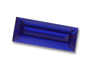 Details about Lab-Created Synthetic Blue Sapphire Nano Crystal Baguette  Loose Stone(5x3-40x30)