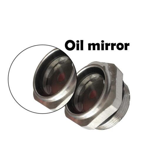"""Luftkompressor Metall 1//2 /""""PT Gewinde-Öl Schauglas*"""