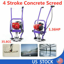 4 Stroke Gas Power Concrete Wet Screed Commercial Vibratory Screed 136hp Sale