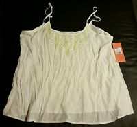 Gillian Omalley Women's Cami, Size Xl