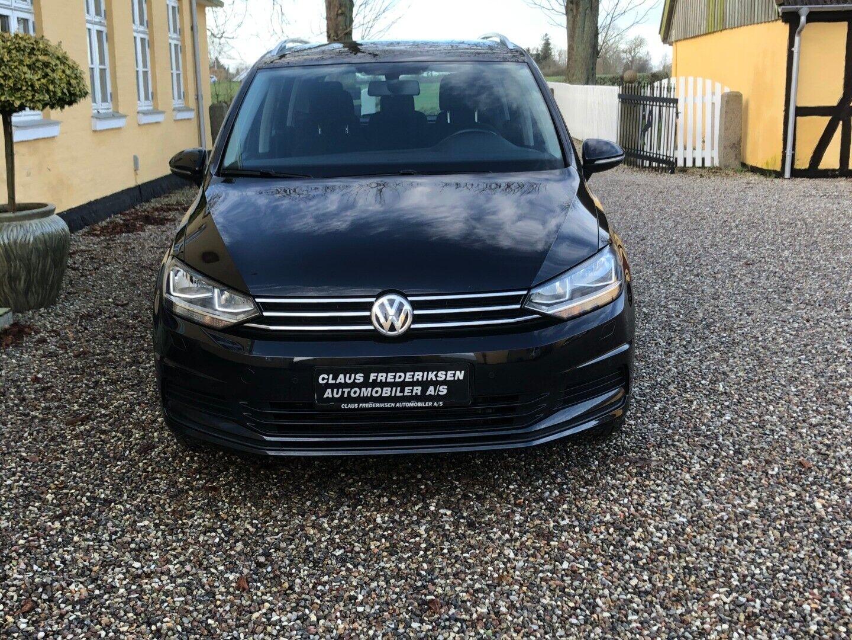 VW Touran 1,6 TDi 115 Comfortline DSG 7prs 5d - 244.900 kr.