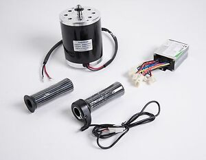 500-W-36-V-DC-electric-1020-motor-kit-w-speed-control-amp-Throttle-f-scooter-ebike