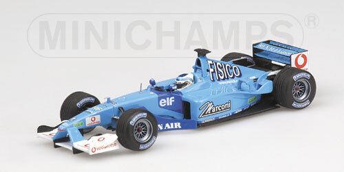 Benetton Renault Sport B201 G.Fisichella 2001 400010007  Minichamps